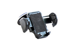 Holder. Car holder for mobile device royalty free stock photo