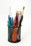 holder with tools royalty free stock images