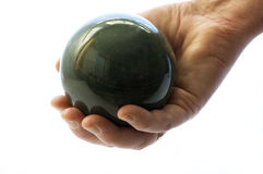 Holding A Ball Stock Photo