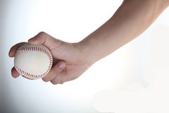 Holding baseball Royalty Free Stock Photos