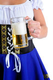 Holding Beer Stein Royalty Free Stock Photo