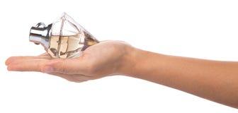 Holding Bottle Of Perfume IV Royalty Free Stock Photography