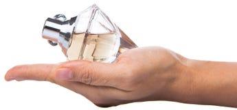 Holding Bottle Of Perfume VI Royalty Free Stock Image