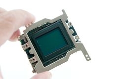 Holding CMOS-Sensor Stockfotografie