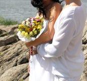 Holding couple Stock Image
