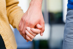 Holding Elder, Senior Hands Stock Photos
