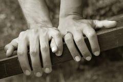 Holding-Hände Stockbilder