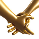 Holding hand 3d arms Royalty Free Stock Photos