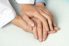 Holding hand Royalty Free Stock Photography