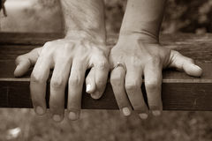 Holding Hands Stock Photography