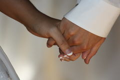 Holding Hands. Photo of couple holding hands Royalty Free Stock Images