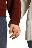 Holding hands Royalty Free Stock Photos