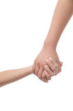 Holding hands. Stock Photography