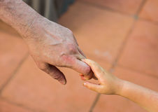 Holding Hands Royalty Free Stock Images