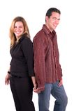 Holding Hands(Isolated) Royalty Free Stock Image