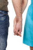 Holding hands together. Stock Images