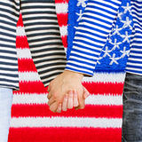 Holding hands together Royalty Free Stock Images