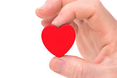 Holding Heart Royalty Free Stock Photography