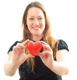 Holding Heart Stock Photos