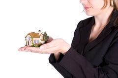 Holding House Royalty Free Stock Photo