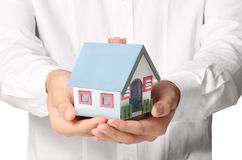 Holding house Stock Photography