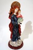 Holding Jesus della Mary Fotografia Stock