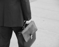 Free Holding Leather Briefcase Stock Images - 11561234