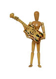 Holding musical instrument Royalty Free Stock Image