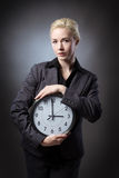 Holding onto time Royalty Free Stock Image