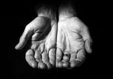 Hands of Hope Stock Images