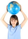 Holding the Planet Royalty Free Stock Photo