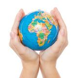 Holding and protecting earth Royalty Free Stock Photos