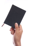 Holding Small Book Stock Photography