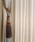 Holding strap for a curtain Stock Image