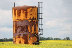 Holding Tank of the Prairies Stock Images