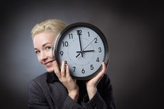 Holding the time Stock Photo