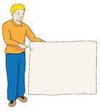 holdingmantecken Stock Illustrationer