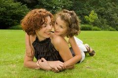 Holdingmutter Lizenzfreie Stockfotos