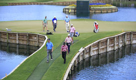Hole 17 at The Players Championship 2012 Royalty Free Stock Image