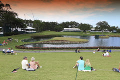 Hole 17 at The Players Championship 2012 Royalty Free Stock Photo