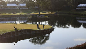 Hole 17 at The Players Championship 2012 Royalty Free Stock Photography
