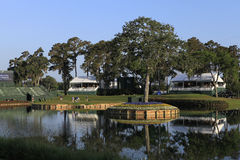 Hole 17 at The Players Championship 2012 Stock Photo