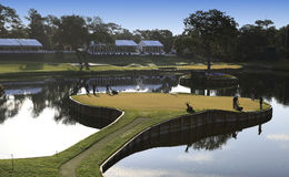 Hole 17 at The Players Championship 2012 Stock Photos