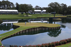 Hole 17 at The Players Championship 2012 Stock Images