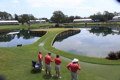 Hole 17, The Players, TPC Sawgrass, FL Royalty Free Stock Photos