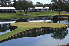 Hole 17, The Players, TPC Sawgrass, FL Stock Photos