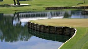 Hole 17, TPC Sawgrass golf, Ponte Vedra, FL Stock Image