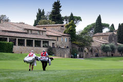 Hole 18 Cannes-Mougins Seniors Masters Stock Photo