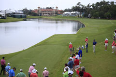 Hole 18 at The Players Championship 2012 Stock Photo