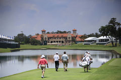 Hole 18 at The Players Championship 2012 Stock Image